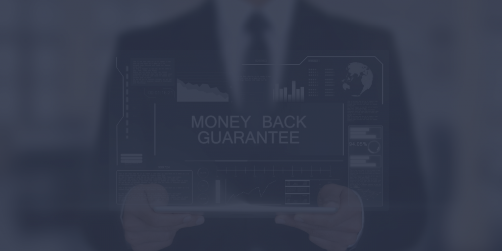 Should recruiting agencies provide a money-back guarantee or placement guarantees?
